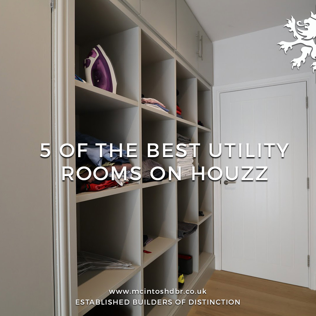 Mcintosh dbr builders top picks 5 of the best utility for Utility rooms uk