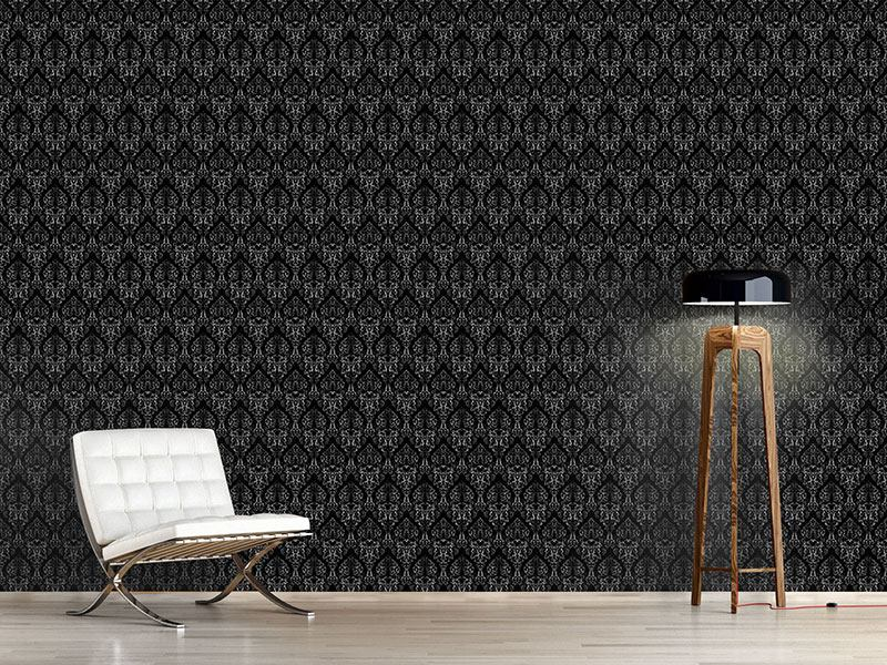 Using this wallpaper, you can create a modern and stylish effect, still with a nod toward traditionalism.